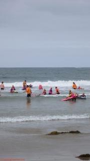 Nippers training beach