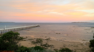 Point Lonsdale - sunset and Pier
