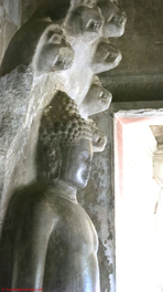 Angkor Wat - one of the few intact Buddhas