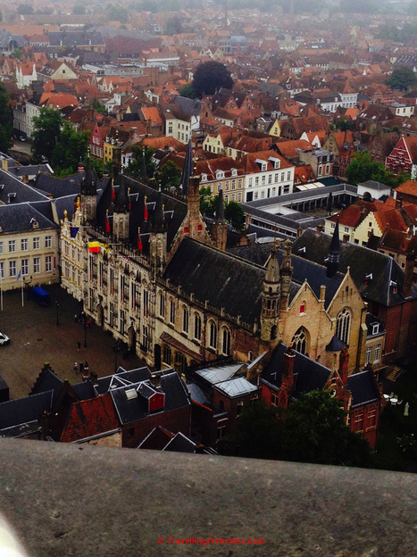 View of Bruges from Belfort
