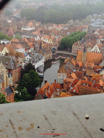 View of Bruges from the Belfort