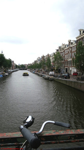 Amsterdam Canals and bikes